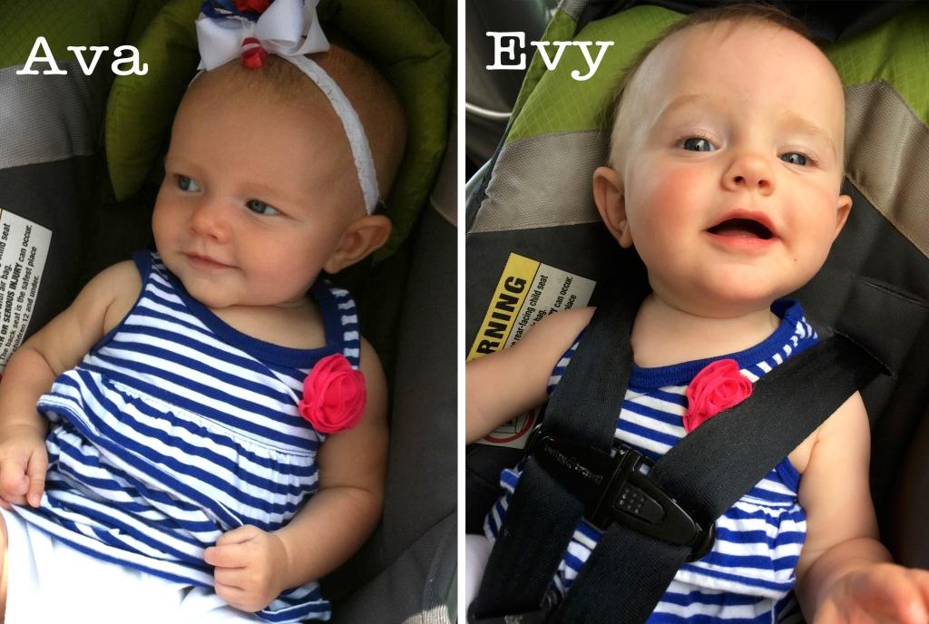 Ava and Evelyn Legge