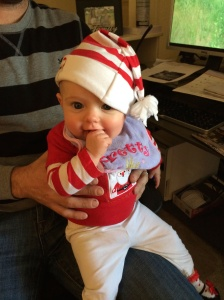 Our very own Elf on the Shelf - Evelyn Sarah